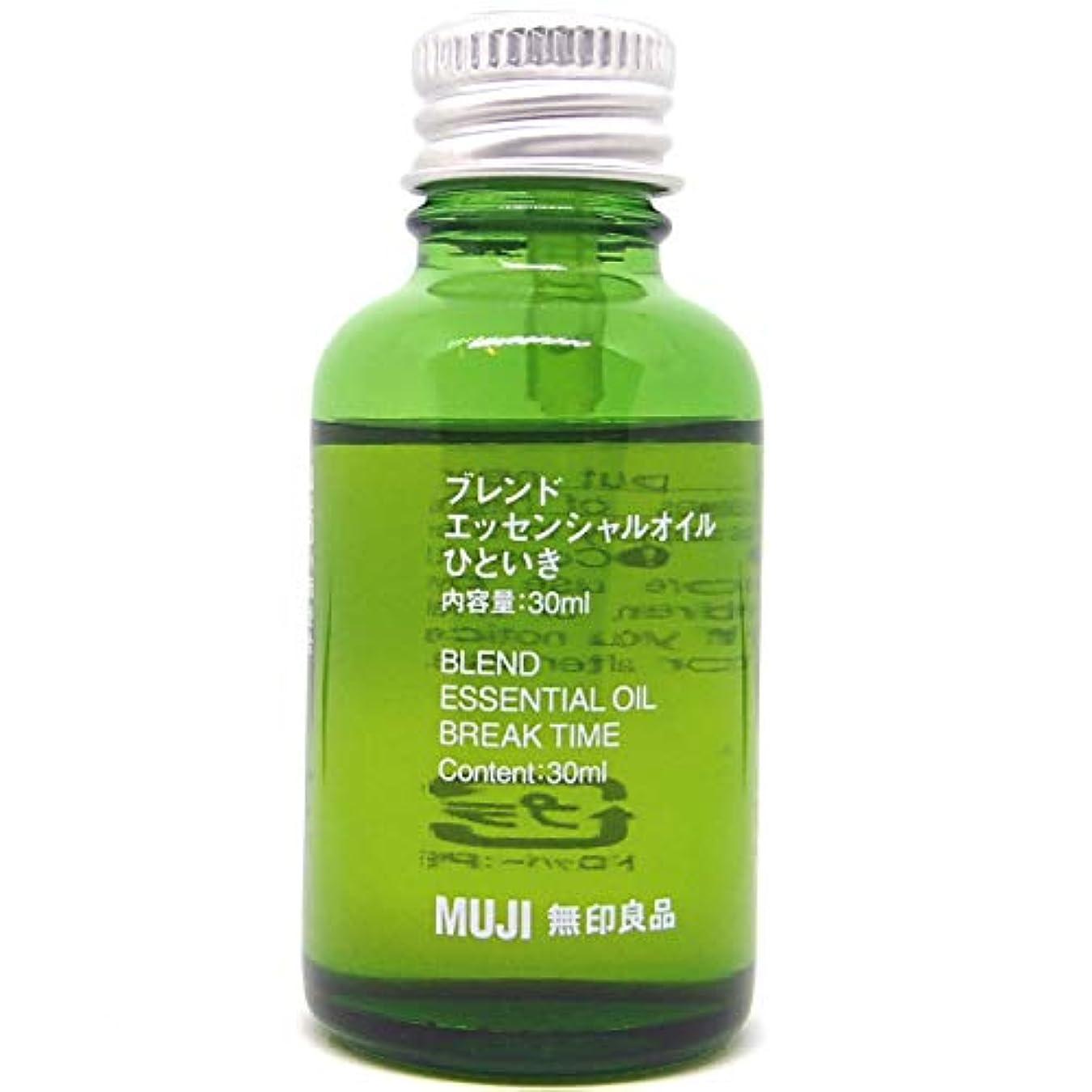 塩辛い密爬虫類【無印良品】エッセンシャルオイル30ml(ひといき)