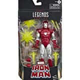 MVL 6IN Legends Iron Man Silver CNTRN