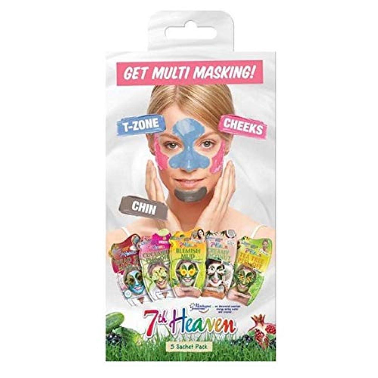 輸送一致踊り子[Montagne Jeunesse] モンターニュジュネス第七天国マルチマスキングマルチパック - Montagne Jeunesse 7th Heaven Multi-Masking Multipack [並行輸入品]