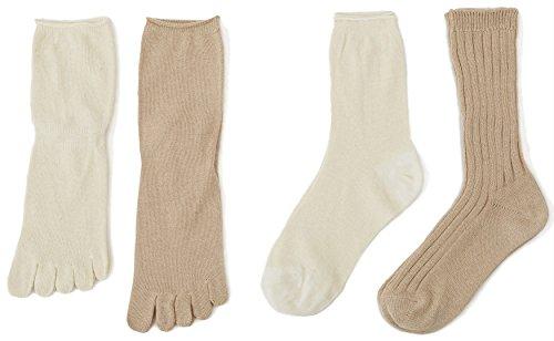 【頭寒足熱で健康に】冷えとり靴下のおすすめ人気ランキング10選のサムネイル画像