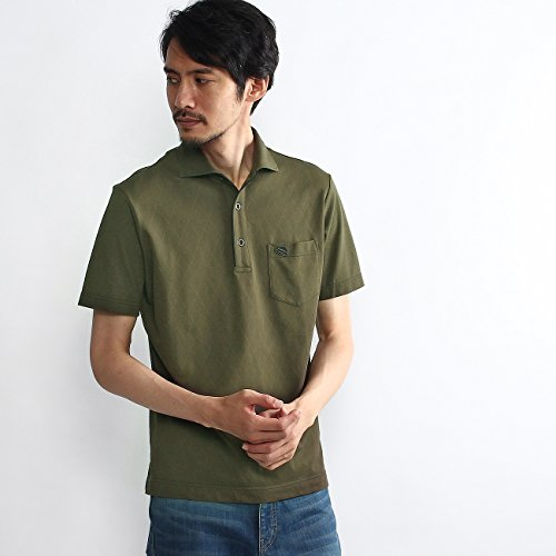 (タケオキクチ) TAKEO KIKUCHI アーガイルポロシャツ 07038029 02(M) カーキ(027)