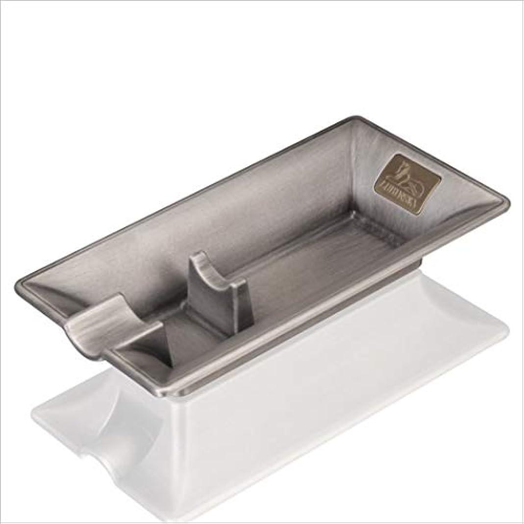 可愛いアジテーションコントローラシガー灰皿高級金属たばこ葉巻灰皿ヴィンテージ旅行灰皿葉巻,Silver