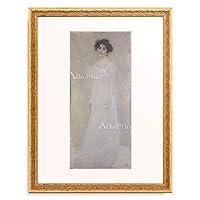 グスタフ・クリムト Gustav Klimt 「Portrait of Serena Lederer」 額装アート作品