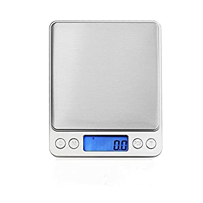 Digital Kitchen Scale for Weighing Electronic Scale for Precision Measuring Instrument Measuring Scale Miniature Kitchen Pro auto Tare Function Off Function