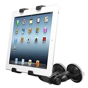 CAPDASE ディスプレイモデル (第4世代) / iPad (第3世代) / iPad 2 / iPad/Android / 10インチ&7インチ タブレット 対応 サクションデュオ カー マウントホルダー