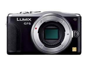 Panasonic ルミックス ミラーレス一眼カメラ ルミックス GF6 ボディ ブラック DMC-GF6-K