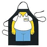 The Simpsons(シンプソンズ) エプロン ホーマー8035【Homer アメコミ キャラクター グッズ 輸入】