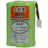 パナソニック VE-GP50DL コードレス子機用互換充電池【KX-FAN50 対応】JANコード:4571476510042