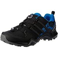 adidas, Terrex Swift R2 Hikings Shoes, Men's Shoes, Black/Black/Bright Blue, 12.5 US