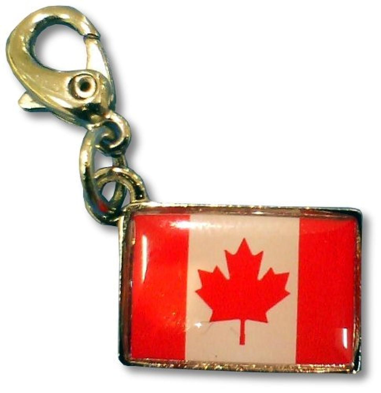 NATIONALFLAG 国旗柄ファスナーホルダー カナダ 05932-9