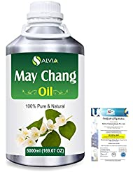 May Chang (Litsea Cubeba)100% Natural Pure Essential Oil 5000ml/169fl.oz.