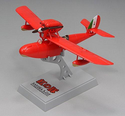 ファインモールド 紅の豚 サボイアS.21F 後期型 1/72スケール 塗装済み完成品 62503