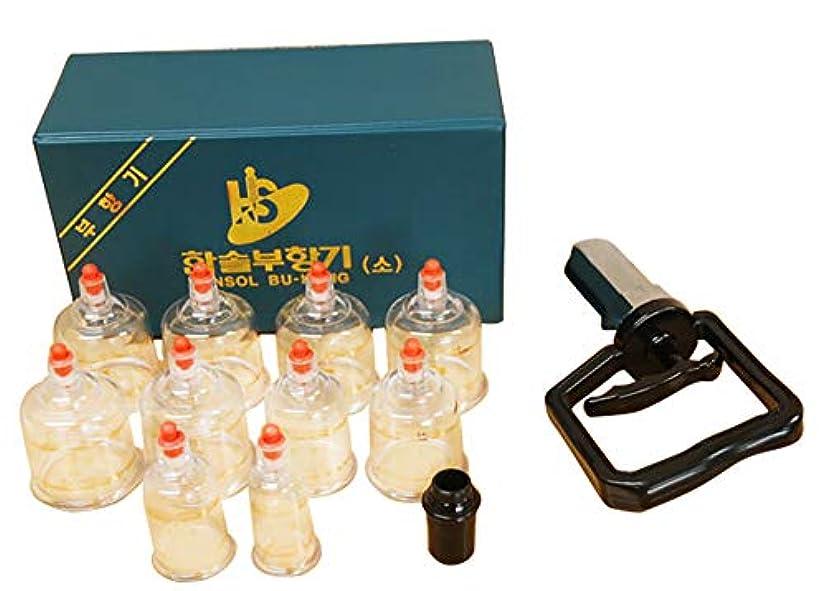 ワーカー未払いセイはさておき中国四千年の健康法「吸玉」がご家庭で手軽にできる!ハンソルメディカル ブハン カッピングカップ10個セット
