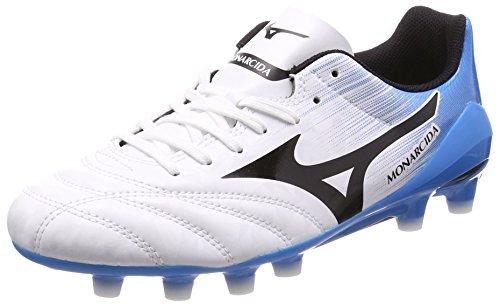 ミズノ サッカー ジュニアスパイク MONARCIDA 2 UL JR P1GB182009 ジュニア ホワイトxブラックxブルー