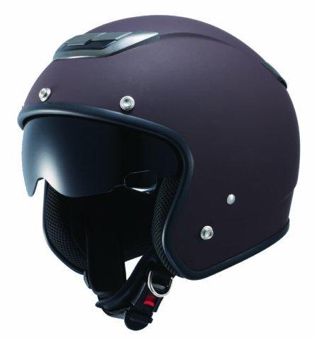 ナンカイ(NANKAI) ZEUS ジェットヘルメット(インナーバイザー装備) マットブラウン フリー NAZ201MBR