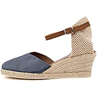 diana ferrari Trinity-DF Womens Shoes Espadrilles High Heels