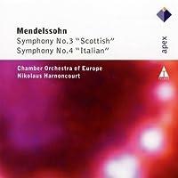 Symphonies 3 & 4 by F. MENDELSSOHN BARTHOLDY (2011-08-30)