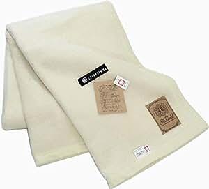 公式三井毛織 国産 しっとり 柔かくて 暖かい シルク100%毛布 (毛羽部) シングルサイズ 140x200 天然オフホワイト