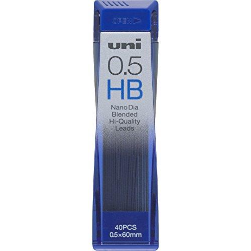 三菱鉛筆 uni ナノダイヤ シャープ替芯 0.5mm HB 黒 [1個] uni0.5-202ND