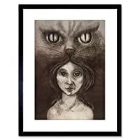 Painting Bosschem Four Cat Small Framed Wall Art Print