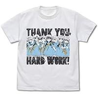 はたらく細胞 血小板のおつかれさまです Tシャツ ホワイト XLサイズ