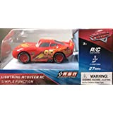 Lighting McQueen Race car - Simple 3 Function Remote