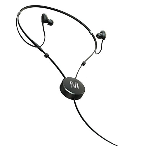 イヤホン iPhone iPod カナル ヘッドホン 巻き取りリールタイプ HIFI 高音質 重低音 有線 マイク/リモコン付き 密閉型 iphone/iPod対応 コード長1.2m(Y型)