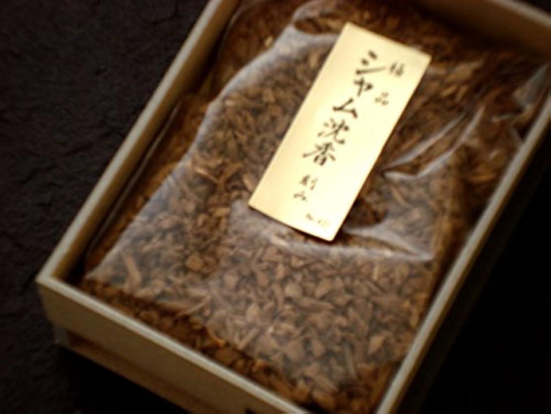 樹皮第二切り離す香木刻み 極品シャム沈香 15g 【香木】