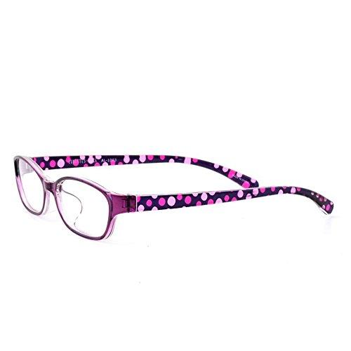 老眼鏡に見えない おしゃれなリーディンググラス クリスチャンオジャール PC用にも CA-1003-3 パープル 度数+3.0