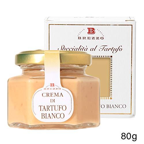 BREZZO 白トリュフ入りホワイトクリーム80g White Truffle Cream