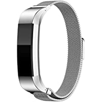 a-store Genuineレザーバンドfor Fitbit ALTA Smart Watch ( Sliver )