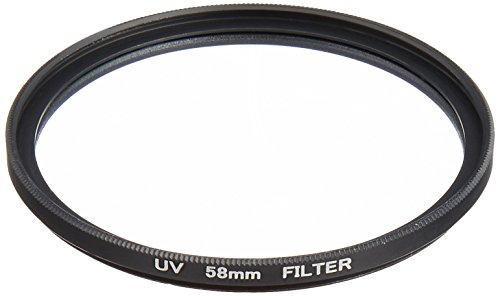 NinoLite UVフィルター 58mm カメラ レンズ 保護 AF対応 フィルターの上からレンズキャップが取り付け可能な構造