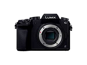 Panasonic ミラーレス一眼カメラ ルミックス G7 ボディ 1600万画素 ブラック DMC-G7-K