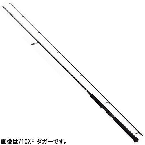 ヤマガブランクス アーリープラス ダガー 710XF