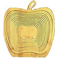 かご バスケット オーバル フルーツ バスケット 洗える 折りたたみ 立体的 パイナップル リンゴ