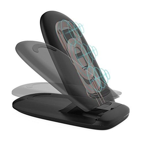 scorel Qi 急速 ワイヤレス充電器 おくだけ充電 折り畳式 iPhone 8 / iPhone X/ Galaxy Note8/ S8/ S8 Plus/ 他の対応機種