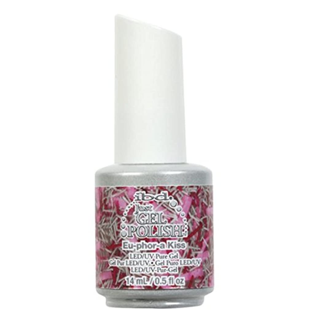 パスポートウイルス熟すibd Just Gel Nail Polish - Eu-Phor-A Kiss - 14ml / 0.5oz