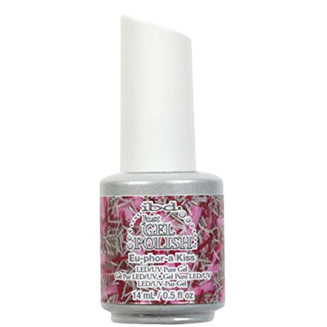 直径スクラップブックしないibd Just Gel Nail Polish - Eu-Phor-A Kiss - 14ml / 0.5oz