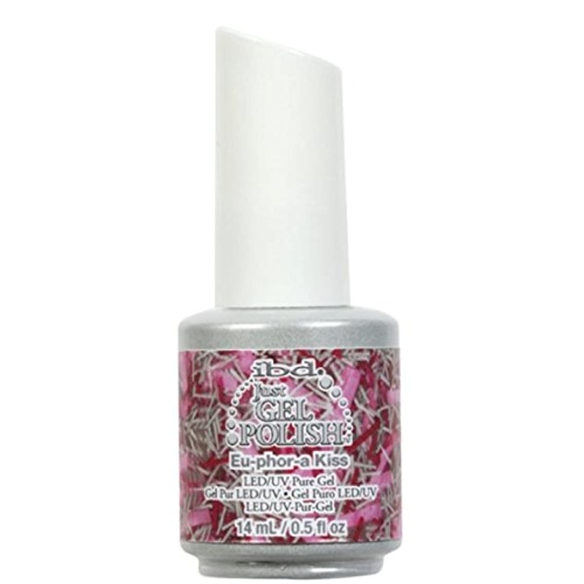 悪性スペイン語ダンプibd Just Gel Nail Polish - Eu-Phor-A Kiss - 14ml / 0.5oz