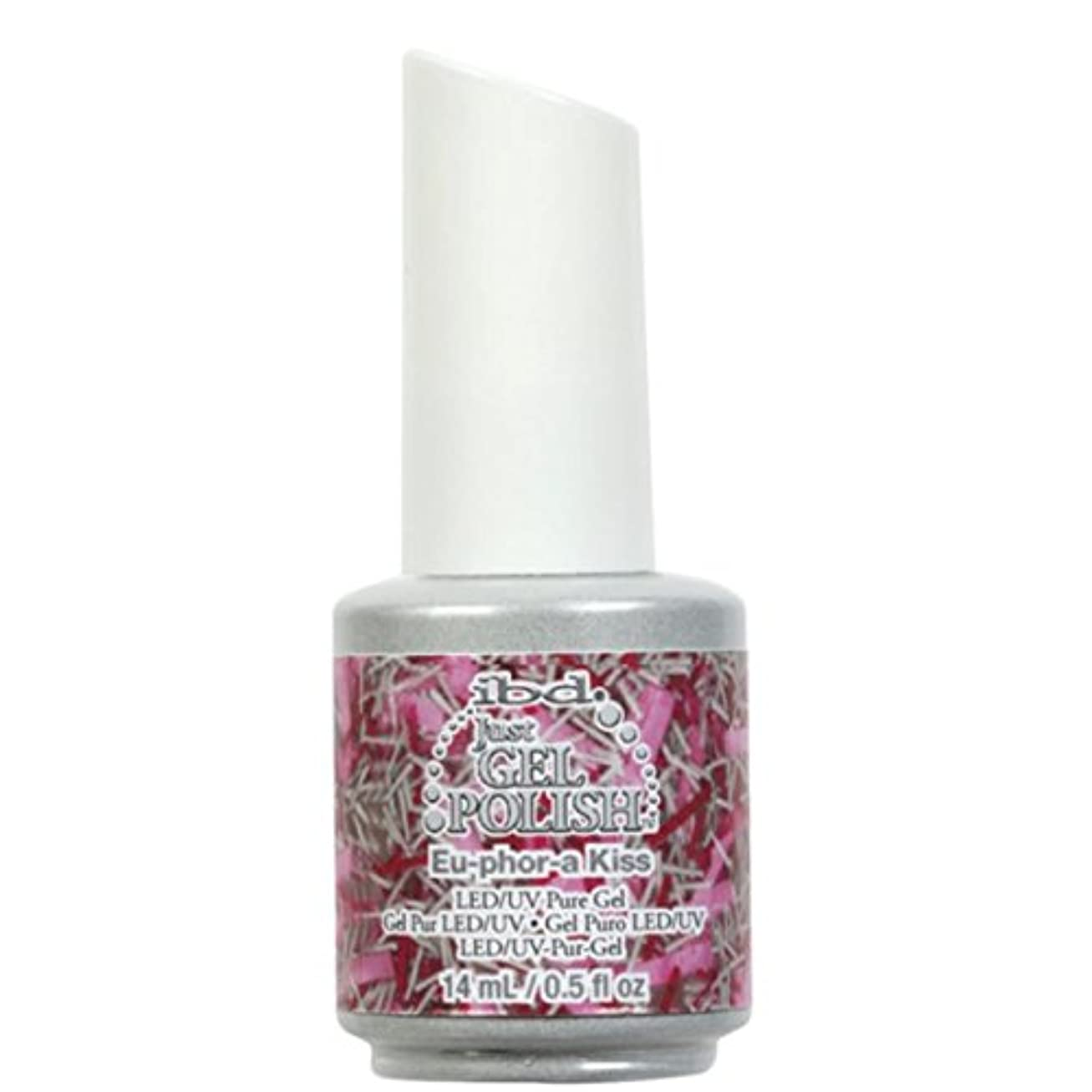 航空会社評価ロビーibd Just Gel Nail Polish - Eu-Phor-A Kiss - 14ml / 0.5oz