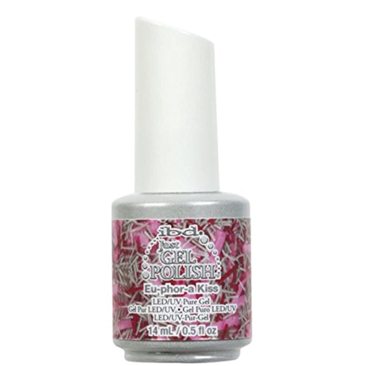 手段北東コンテストibd Just Gel Nail Polish - Eu-Phor-A Kiss - 14ml / 0.5oz