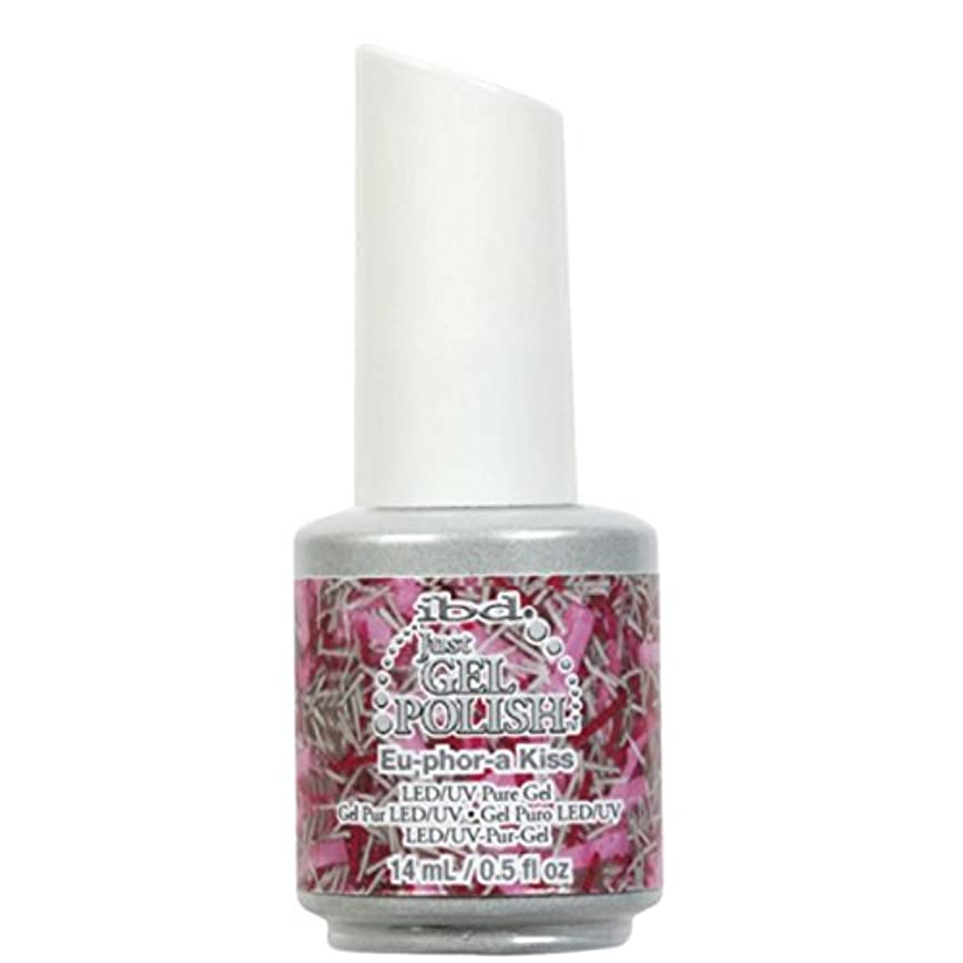 箱習熟度他の場所ibd Just Gel Nail Polish - Eu-Phor-A Kiss - 14ml / 0.5oz