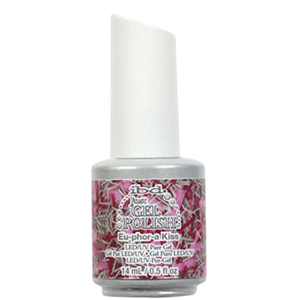 タップボーナス衝突ibd Just Gel Nail Polish - Eu-Phor-A Kiss - 14ml / 0.5oz