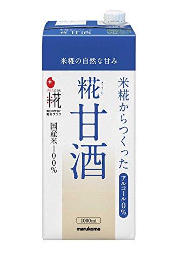 マルコメ プラス糀 米糀から作った糀甘酒LL 1000ml×6本...