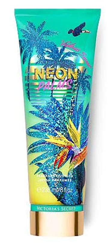 マダム傑出したカンガルーVictoria's Secret(ヴィクトリアシークレット) Tropic Dreams Fragrance Lotions NEON PALMS [並行輸入品]