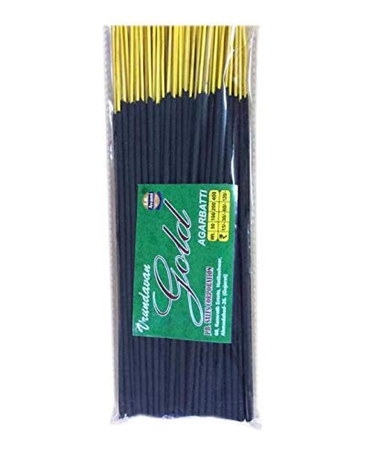 苦情文句しない読書をするAvani Gold Incense Stick/Agarbatti (400 Gm. Pack)