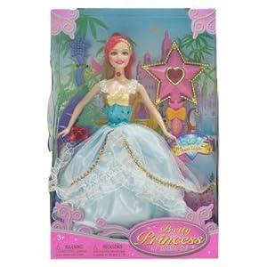 WeGlow International Pretty Princess Doll Play Set ドール 人形 フィギュア(並行輸入)