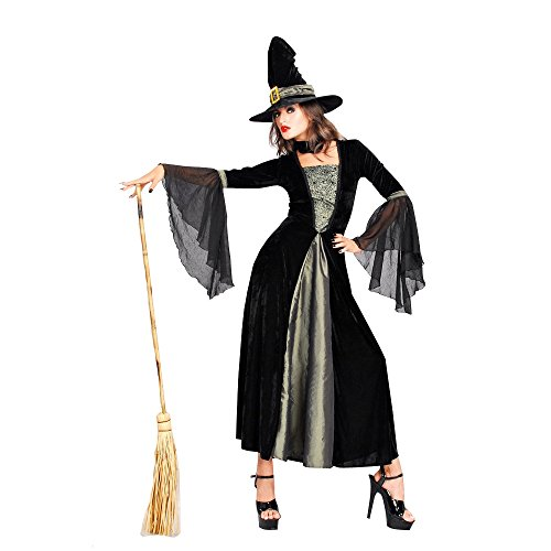 ハロウィン(halloween)魔女 ウィッチ  コスチューム 仮装衣装 グッズ 大人用  Ruleronline