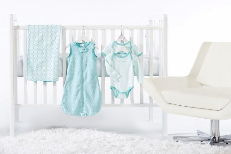 SwaddleDesigns 5 Piece Crib Bedding Set, Turquoise, 0-6months [並行輸入品]