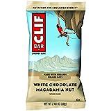 CLIF Bar Macadamia Nut White Chocolate, 12 x 68g